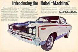 "Introducing The Rebel ""Machine"". | Print Ads"