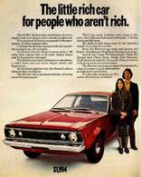 The Little Rich Car For People Who Aren't Rich. | Print Ads