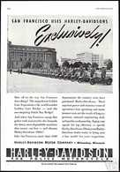 San Francisco Uses Harley-Davidson Exclusively! | Print Ads