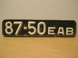 USSR License Plate Front | License Plates