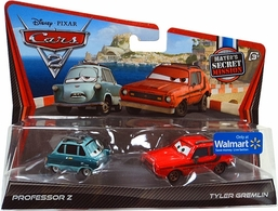 Cars 2 professor z tyler gremlin set medium