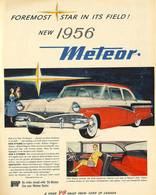 Foremost Star In Its Field! The New 1956 Meteor! | Print Ads