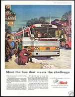 Meet The Bus That Meets The Challenge | Print Ads