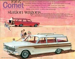 1965 Comet Station Wagons | Print Ads