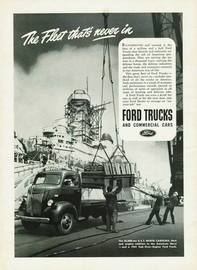 The Fleet That's Never In | Print Ads