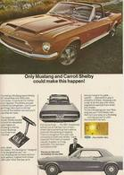 Only Mustang And Carroll Shelby Could Make This Happen! | Print Ads