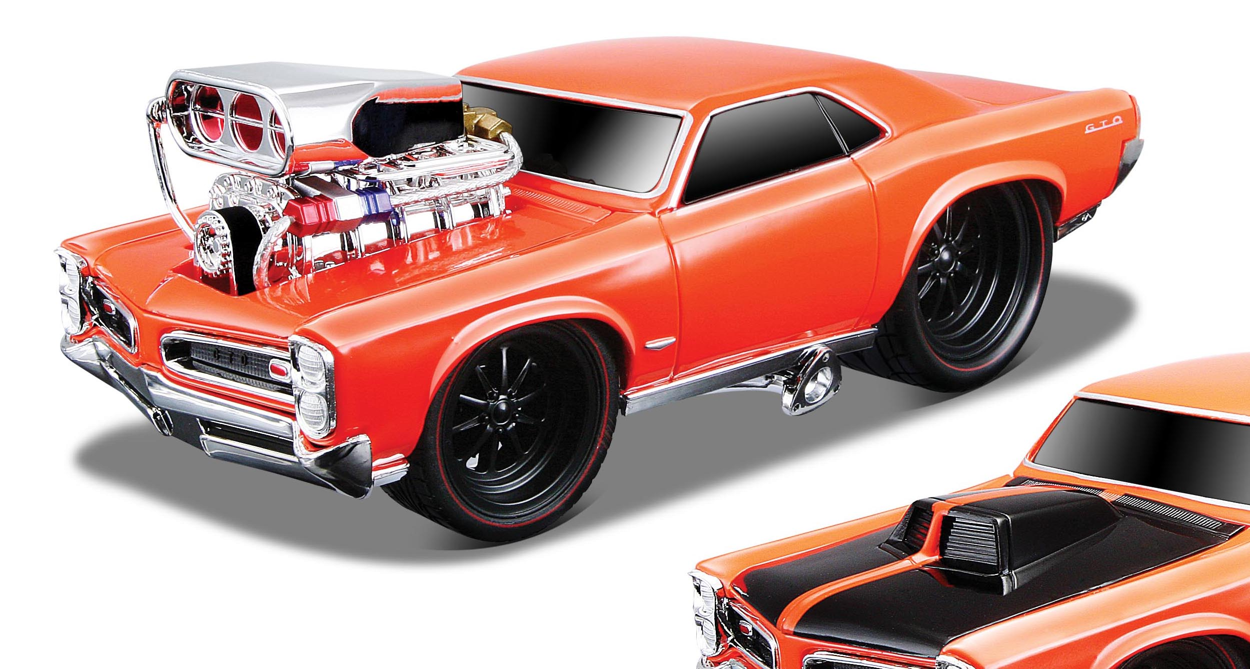 1966 Pontiac Gto Model Car Kits Hobbydb