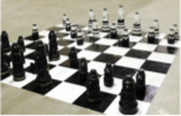 Camera Lens Chess Set | Chess Sets and Boards