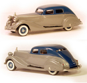 1934 Studebaker President Regal Land Cruiser Two Tone | Model Cars
