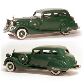 1935 Studebaker President Regal Sedan With Side Mounts | Model Cars
