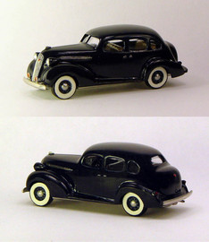 1936 Studebaker Dictator 4 Door Cruising Sedan | Model Cars