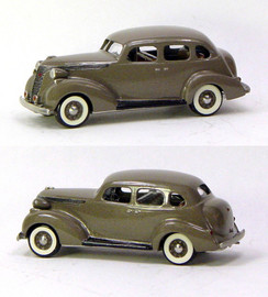 1937 Studebaker Dictator 4 Door Cruising Sedan | Model Cars