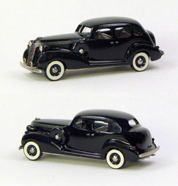 1937 Studebaker President Cruising Sedan 4 Door | Model Cars