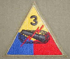 World War II 3rd Armored Division Patch | Uniform Patches