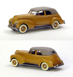 1939 Studebaker President Worlds Fair Convertible 4 Door | Model Cars