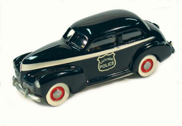 1941 Studebaker Champion 2 Door Sedan South Bend Police | Model Cars