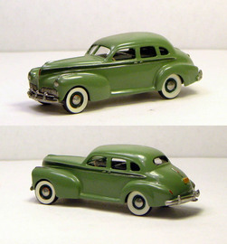 1941 Studebaker President Sedan Deluxtone | Model Cars