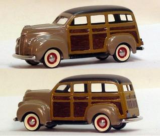 1946 Studebaker M5 Station Wagon | Model Cars