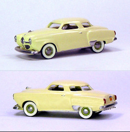 1950 Studebaker Champ Starlight Coupe | Model Cars