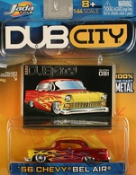 Jada dub city 56 chevey bel air model cars 664fbe88 9709 40fb 8d7a 6df9121c5f8f medium