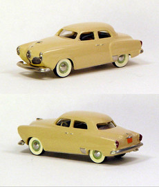 1951 Studebaker Commander 4 Door Sedan | Model Cars