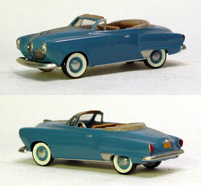 1951 Studebaker Commander Convertible | Model Cars
