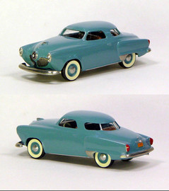 1951 Studebaker Commander Starlight Coupe | Model Cars