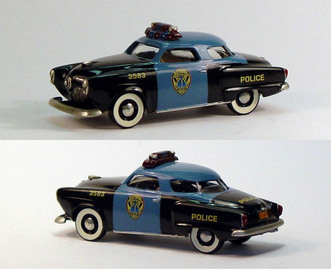 1951 Studebaker Commander Starlight Coupe Gotham City Police | Model Cars