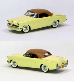 1953 Studebaker Commander Convertible Closed | Model Cars