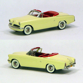 1953 Studebaker Commander Convertible Open | Model Cars