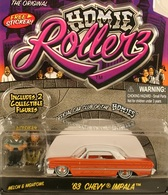 Jada homie rollerz 63 chevy impala model cars 5c85c948 5e8a 43f0 94b2 c0d642a03dde medium