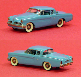 1954 Studebaker Commander Starlight Coupe | Model Cars