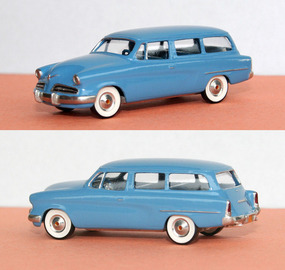 1954 Studebaker Commander Station Wagon | Model Cars