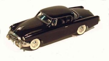 1955 Studebaker Commander Deluxe Coupe   Model Cars