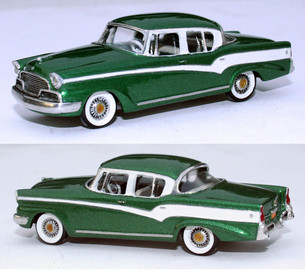 1956 Studebaker President Classic 4 Door | Model Cars
