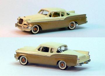 1957 Studebaker Silver Hawk | Model Cars