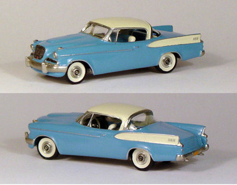 1958 Studebaker Golden Hawk | Model Cars