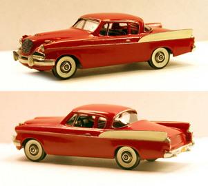 1958 Studebaker Silver Hawk | Model Cars