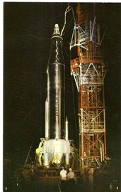 "NASA Mercury-type Capsule ""Big Joe I"" - Cape Canaveral Florida 