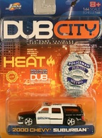 Jada dub city%252c dub city heat 2000 chevy suburban model cars ed833cc8 7f70 4b73 91d7 65a6dac6362b medium