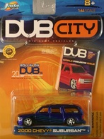 Jada dub city 2000 chevy suburban  model cars b8a3f038 ec39 41bd 9b81 1e99b9d3c22a medium
