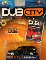 Jada dub city 2000 chevy suburban  model cars a708e133 6d6a 4f36 bec2 ab07c0550081 medium
