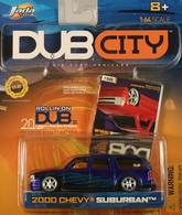 Jada dub city 2000 chevy suburban  model cars f997d55f 65a2 4894 9831 700203010212 medium