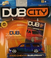 Jada dub city 2000 chevy suburban  model cars 213a583c a5a8 4bd4 89ae 4bff0b1556e0 medium