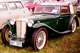MG TB Midget | Cars