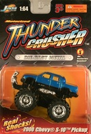 Jada thunder crushers 2000 chevy s 10 pickup model trucks cbef22d1 1166 4cee a5d3 2676b50be091 medium