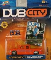 Jada dub city 2000 chevy silverado  model trucks f9889e90 71c6 4d01 a26f 2ffc90d4aafe medium