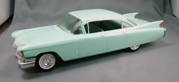 1960 Cadillac Fleetwood 4 Door Hardtop Promo Model Car  | Model Cars
