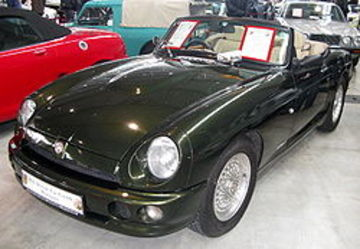 MG RV8 | Cars