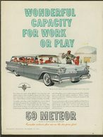 Wonderful Capacity For Work Or Play | Print Ads